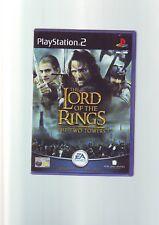 El Señor De Los Anillos: las Dos Torres-Juego de PS2/+60GB PS3 Original y Completo