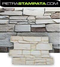 STAMPO per intonaco stampato FINTA PIETRA muro stampato STAMPED WALL stamp mold