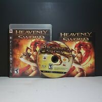 Heavenly Sword (Black Label, Sony PlayStation 3, PS3, 2007) Complete w/ Manual