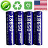 4pcs Power ICR 18650 3.7V Top Li-ion Rechargeable Battery For LED Flashlights US