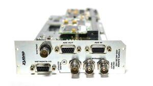 Evertz 7746FS-EAES8-DD-AC3E-HD Frame Synchronizer w/ Dolby Decoder + Encoder