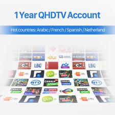 QHDTV 12 MOIS ABONNEMENT, SMART TV ANDROID