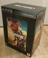 Max Payne 3 -- Special Edition (Sony PlayStation 3, 2012)