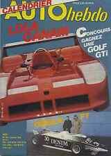 AUTO HEBDO n°196 du 4 Janvier 1980 LOLA T530 BILAN F3 BANDAMA