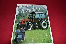 Zetor 7211 7245 Tractor Dealer's Brochure LCOH