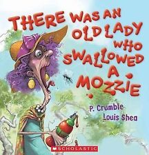THERE WAS AN OLD LADY WHO SWALLOWED A MOZZIE Childrens Reading Picture Book SC 1