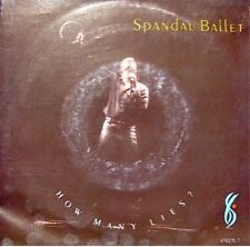 SPANDAU BALLET how many lies/communication SP 1986 VG++