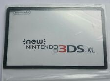 Nintendo New 3DS XL /LL Screen Cover LCD Lens Clear Part New Fit Great ! Grey