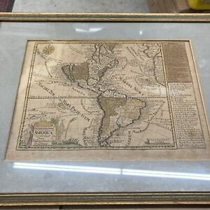 California Island Johann Georg Schreiber Very Early Map North And South America