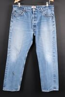 Vintage LEVI'S 501 Button Fly Denim Jeans Mens Size 38x32 Actual (36x29)