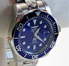 Invicta Grand Diver Men's Watch, 3045, Blue Dial, 300M Automatic