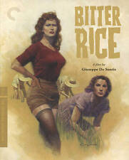 Bitter Rice (Blu-ray Disc, 2016, Criterion Collection) SEALED