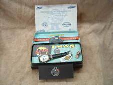 BRAND NEW BATMAN #1 DC COMICS COLLECTOR'S FOSSIL WATCH  WITH ORIGINAL TIN  BOX