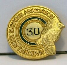Nssa National Skeet Shooting Association 30 Award Pin Quail Logo Trademark clay