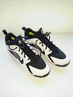 NEW Nike Huarache Elite baseball cleats mens size 12 white/black (AJ1433-010)
