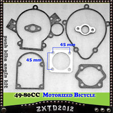 Gasket set for 66cc 70cc 80cc Motorized Motorised Bicycle Push Bike  Motor