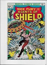 Marvel Comics   Shield #4 1973 Series    VF  Steranko