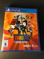 Runbow [ Deluxe Edition ] (PS4) NEW
