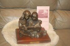 "Bronze Figurine ""Best Friends"" Joan Barmore Holcombe"