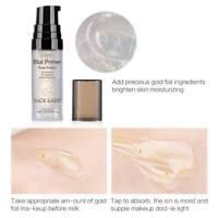 SACE LADY Blur Primer Makeup Base Face 24k Gold Oil Control Foundation Primer US