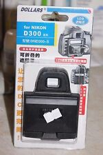 NIKON D300 DSLR CAMERA LCD HOOD AND SCREEN PROTECTOR BNIB