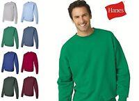 Hanes Sweater S - 5XL ComfortBlend  EcoSmart  Crewneck Sweatshirt New  - P160