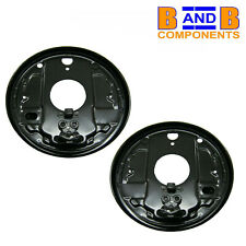VW T2 TRANSPORTER CAMPER VAN REAR BRAKE BACK PLATES SPLASH SHIELDS x 2 A1679