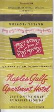Naples Golf and Beach Club Naples Florida FL Old Matchcover