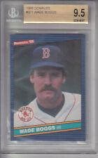 1986 Donruss Card #371 Wade Boggs Red Sox Z16324 - BVG GemMt (9.5)