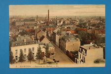 Nord 59 AK CPA TOURCOING 1914 Panorama verset Roubaix maisons fabrique usine