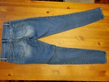EXPRESS SOFT BLUE WASHED LEGGING JEANS Size 2