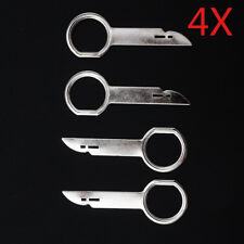 4x Ford Focus Fiesta Mondeo Car CD Stereo Radio Removal Release Keys Tool Agile