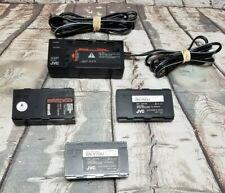 (Tt-8178) Jvc Gf-500 Videomovie Camcorder Vhs Battery Charger Adapter Batteries