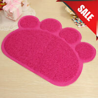 Pink PAW Easylifer Cat Litter Mat Non-slip Food Bowl Feeding Placemat Mat Pet