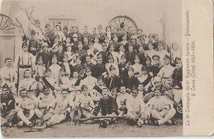 1903/4 GREECE CRETE CHANIA THE 9th ITALIAN COMPANY OF THE 6th INFANTRY REGIMENT