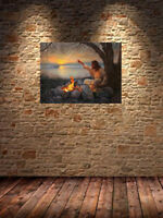 HD Print Oil Painting Home Decor Art on Canvas Reika 12x18inch Unframed