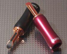Furez TST-WP48NP - Bare Copper Banana Plug Speaker Connectors Crimp/Solder - Per