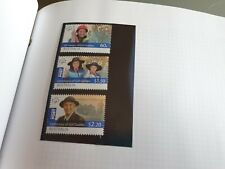 AUSTRALIA 2010 SG 3474-3476 CENT OF GIRL GUIDING  MNH
