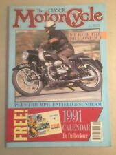 Classic Motor Cycle Magazine Motorcycle December 1990
