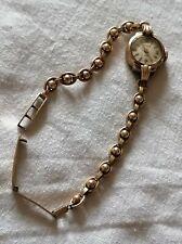 Art Deco majec 9ct 375 rose Gold Watch 11g