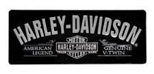 Harley-Davidson® Bar & Shield V-Twin Tin Wall Sign Black & Silver (18x7) 2010681