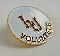 Vintage Lehigh University Pin, LU Volunteer