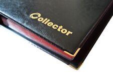 Negro Álbum de mejor calidad para 221 monedas monedas de tamaño de mezcla de libro de carpeta de moneda/Col