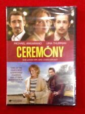 Ceremony DVD Wedding Intelligent Comedy Older Obsessed Ex Lover SEXY Uma Thurman