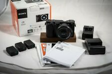 New ListingSony Alpha A6000 Mirrorless Digital Camera Body with Accessories and 2 Lens