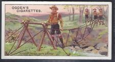 OGDENS-BOY SCOUTS (1ST SERIES BLUE BACK)-#035- QUALITY CARD!!!