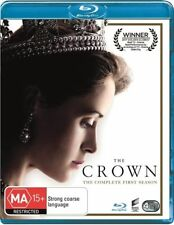 The Crown : Season 1 (Blu-ray, 2017, 4-Disc Set) Brand New & Sealed