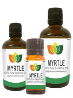Myrtle Essential Oil Pure Natural Authentic Aromatherapy Myrtus communis