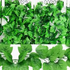 82 Ft Artificial Grape Vine Faux Ivy Leaf Garland Plants Fake Foliage Home Décor