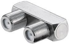 F-Verbinder U-Form F-Buchse - Zum Verbinden zweier Koaxialkabel Unterputzdosen